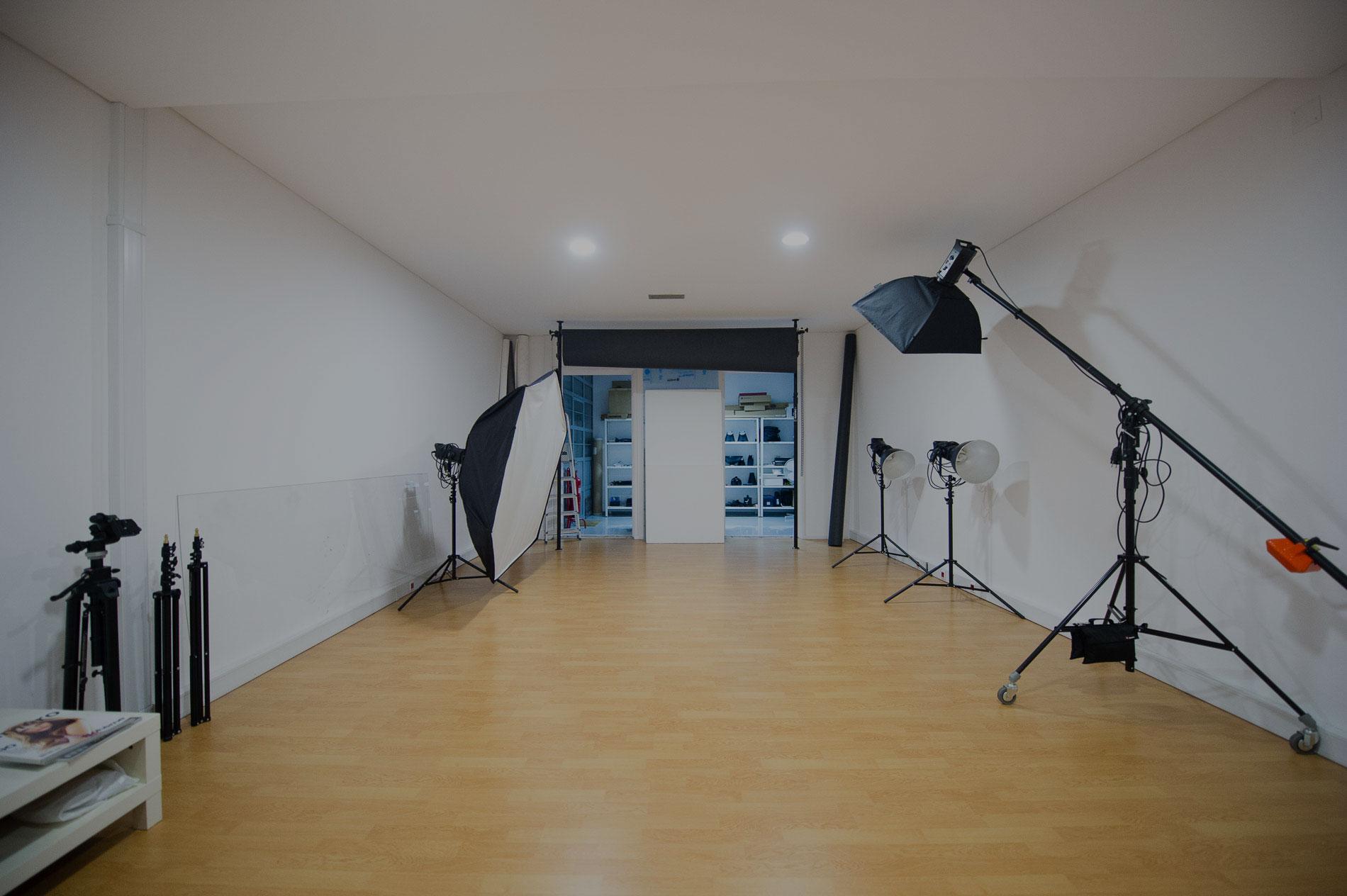 Aluguer de estúdio fotográfico <br>e workshops